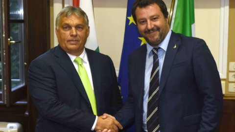 Patto sovranista Salvini-Orban per scardinare l'Europa
