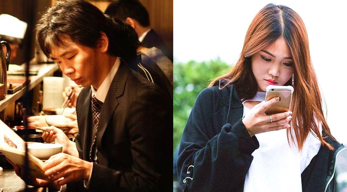 Uomo e donna cinesi