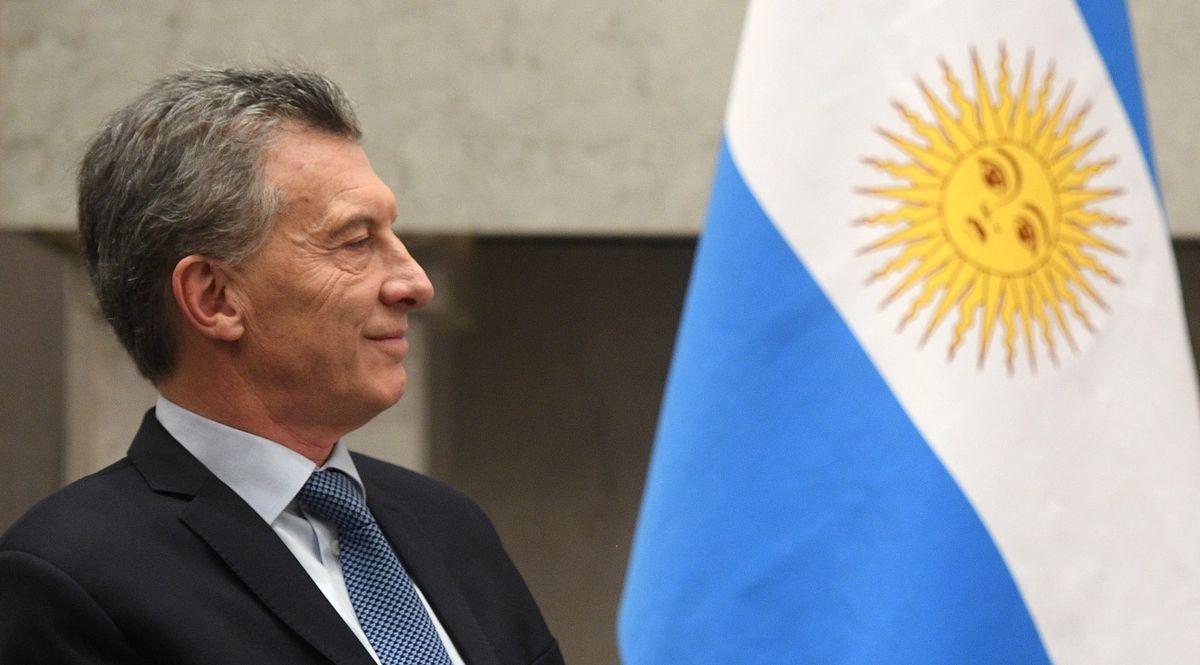 Mauricio Macri presidente dell'Argentina