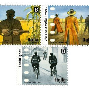 Poste celebra il cinema italiano con tre nuovi francobolli