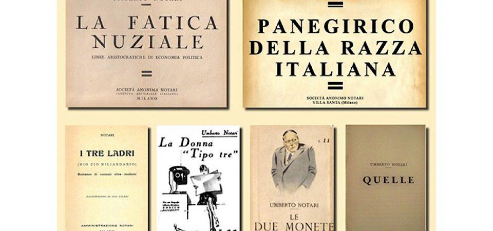 Bestseller del passato su FIRST Arte: lo stravagante caso di Umberto Notari