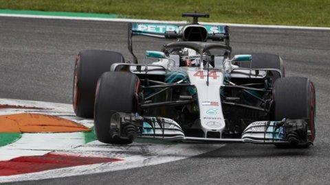 F1, Gp Monza: trionfa Hamilton, Vettel solo quarto
