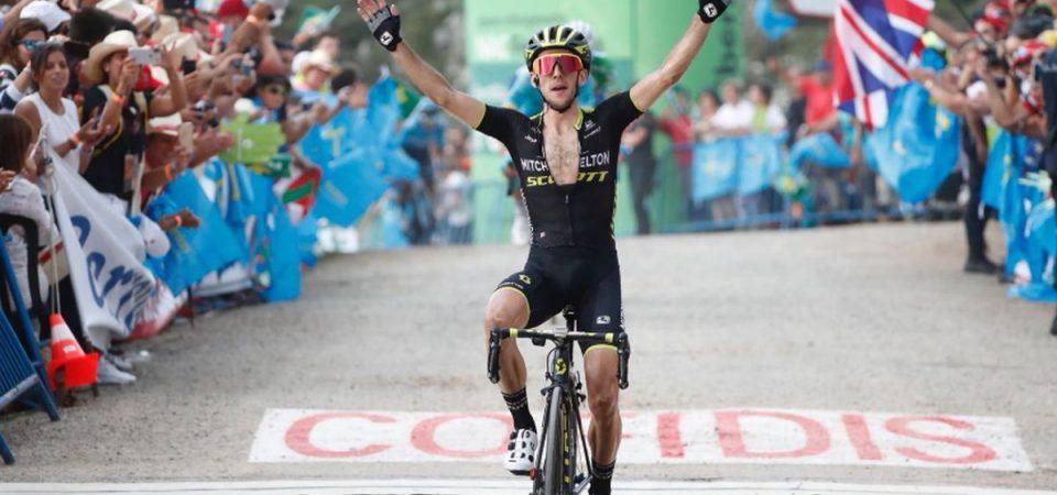 Vuelta: Simon Yates conquista tappa e la maglia rossa