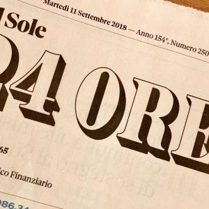 Il Sole 24 Ore, ribaltone: Tamburini direttore al posto di Gentili