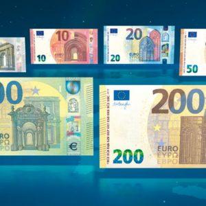 Nuove banconote da 100 e 200 euro: ecco le novità