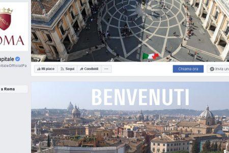 Città su Facebook: Roma la più seguita, ma in proporzione vince Verbania