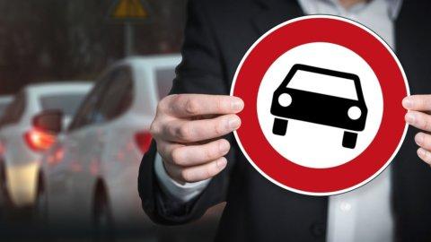 Auto diesel, stop in tutto il Nord Italia