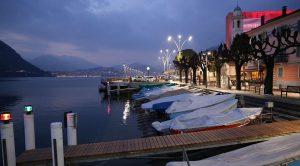 Campione d'Italia sul lago di Lugano