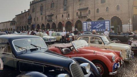Gp Nuvolari, auto d'epoca in corsa: c'è anche Banca Generali