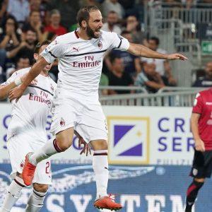 Milan e Roma deludono ma Higuain torna al gol