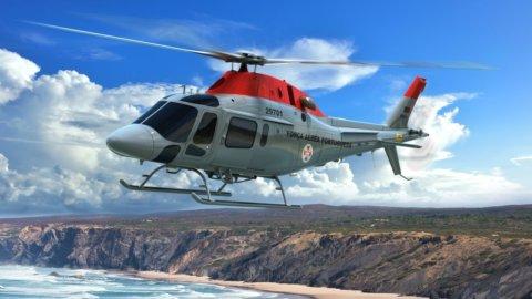 Leonardo: cinque elicotteri per Aeronautica Portogallo