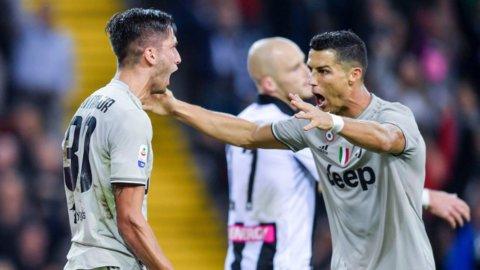 Juve, ottava vittoria a Udine: nessuno in Europa ha fatto meglio