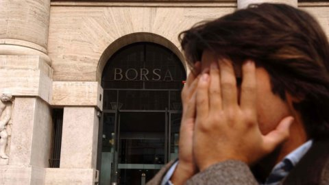 Panic selling in Borsa per il rischio lockdown