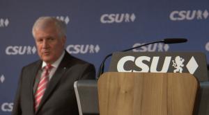 Horst Seehofer, leader della Csu