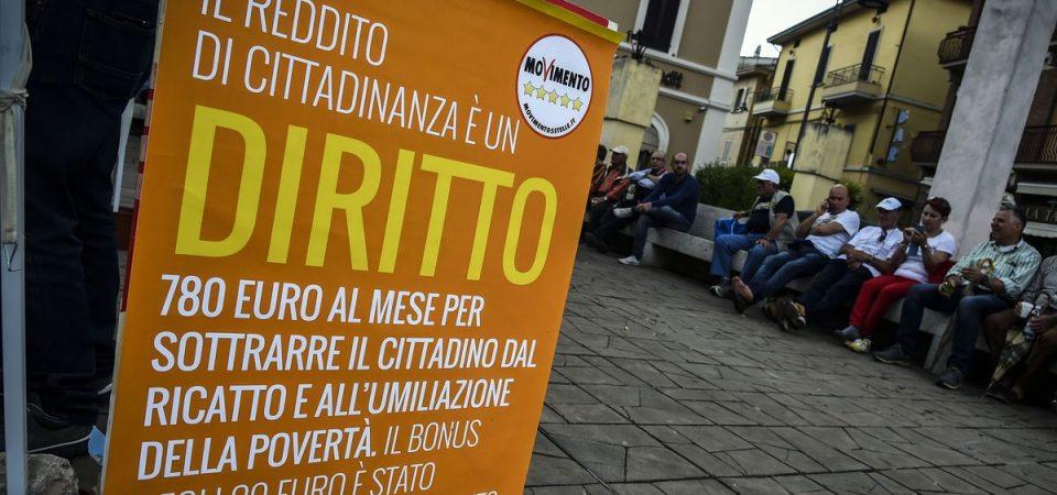 Reddito di cittadinanza: solo 293 euro a famiglia, ecco i calcoli