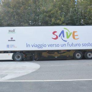 """Save: parte il """"museo su due ruote"""" per la lotta agli sprechi"""