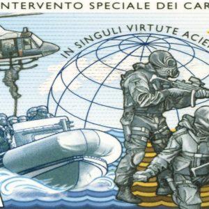 Poste, un francobollo per i 40 anni del GIS dei Carabinieri