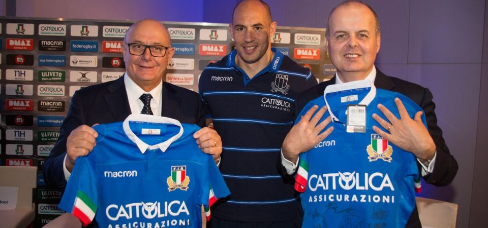Cattolica e il rugby: al via gli spot con Parisse e compagni
