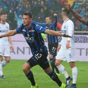 L'Inter crolla a Bergamo: 4-1 per l'Atalanta