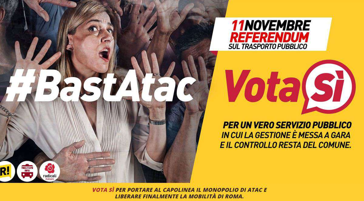 Referendum Atac comitato del Sì