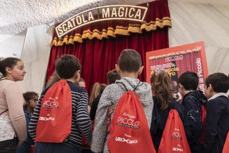Milano, UBI apre il Piccolo ai bambini e premia le attrici