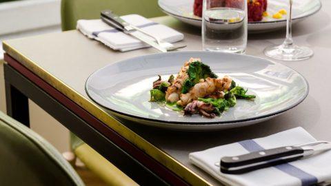 Calamari, n'duja e cime di rapa: la ricetta di Andrea Asoli