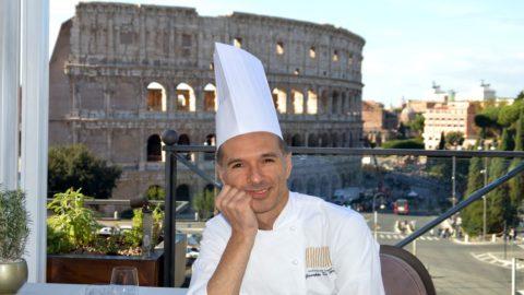 Giuseppe Di Iorio, creativity and Mediterranean flavours at the Colosseum