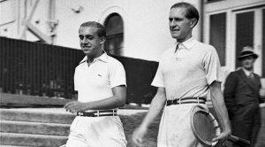 Henner Henkel e Gottfried von Cramm