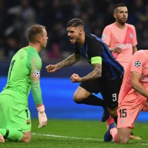 Champions: Inter e Napoli resistono a Barcellona e Psg
