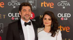 Gli attori spagnoli Javier Bardem e Penelope Cruz