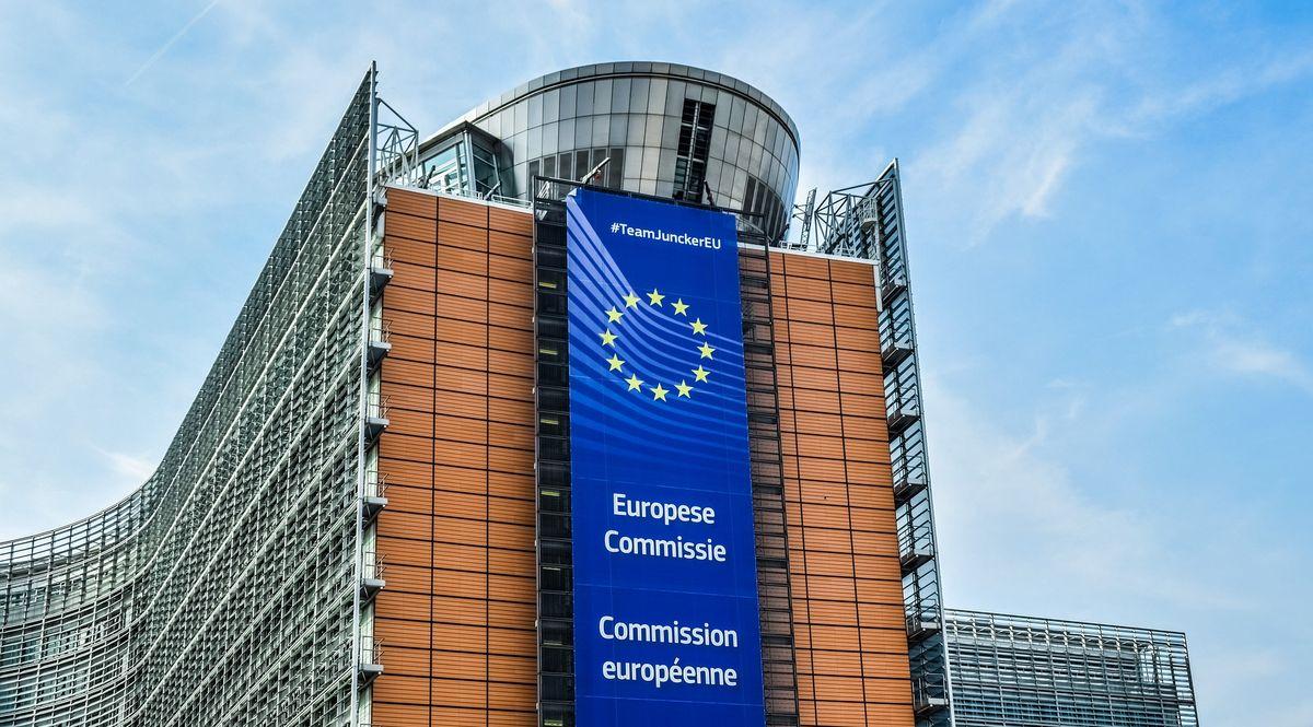 La sede della commissione Ue a Bruxelles Europa
