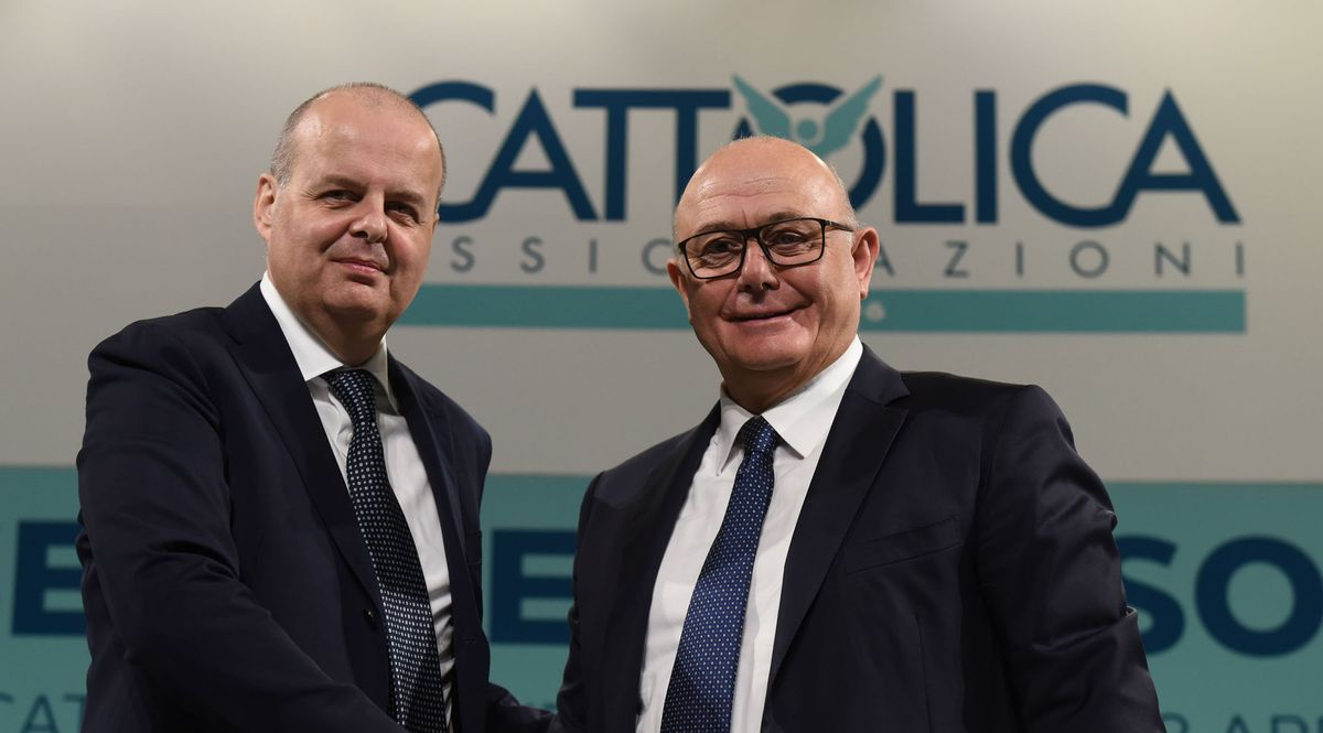 Alberto Minali e Paolo Bedoni, CEO e presidente di Cattolica Assicurazioni