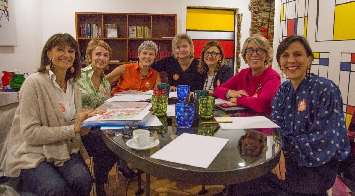 Le 7 donne Sì Tav di Torino