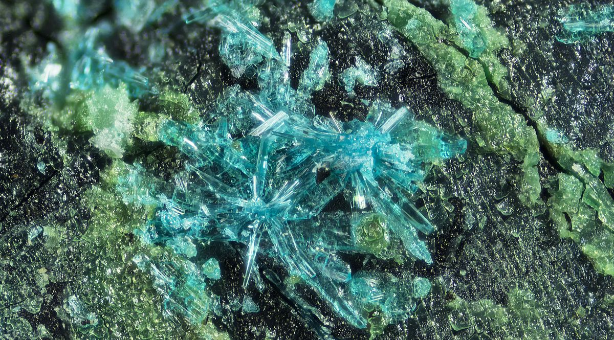 La fiemmeite, nuovo minerale scoperto in Trentino