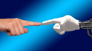 Contatto uomo robot