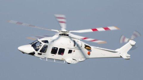 Leonardo, contratto per quattro elicotteri in Giappone