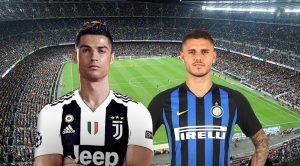 Cristiano Ronaldo e Icardi, Juventus Inter