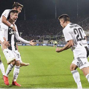 La Juve espugna Firenze che perde due volte