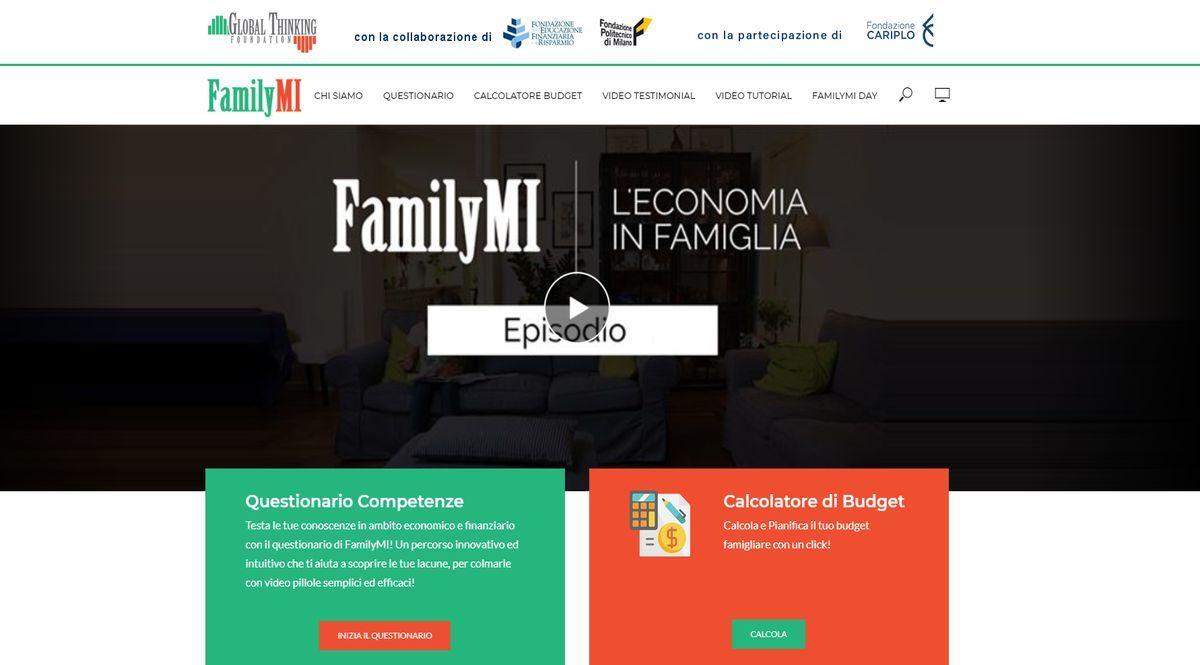 Screenshot di FamilyMI