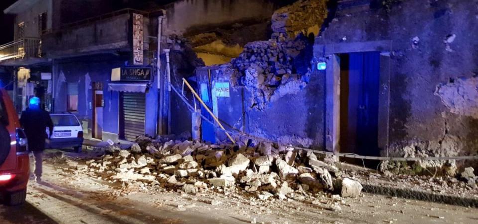 Terremoto Catania, Unicredit sostiene Comuni colpiti