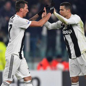 La Juve liquida la Roma ed è campione d'inverno: Napoli a -8