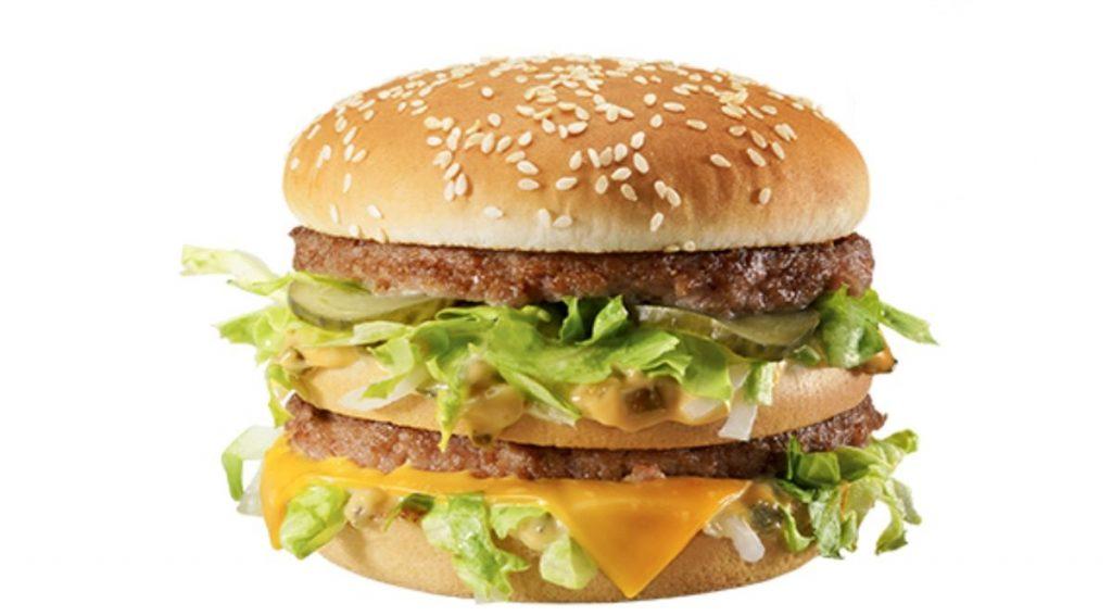 Big Mac di McDonald's