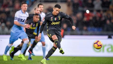 La Juve soffre ma vince e fugge (+11), Inter e Roma deludono