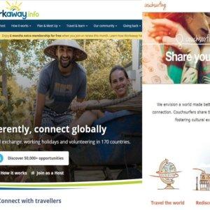 Couchsurfing e Workaway: come viaggiare alloggiando gratis