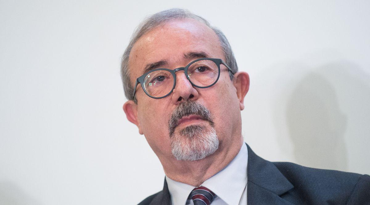 Il segretario generale della UIL Carmello Barbagallo