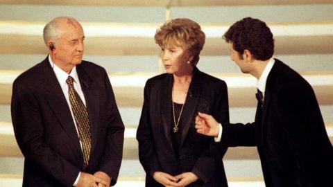 Festival Sanremo, Gorbaciov vent'anni fa la cantò alla politica