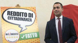 Luigi Di Maio presenta il Reddito di cittadinanza