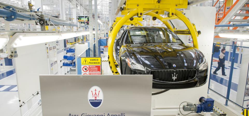 """Fca: nuova Maserati """"super sportiva"""" a Modena"""