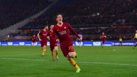 La Roma supera il Milan e torna in zona Champions mentre il Napoli frena