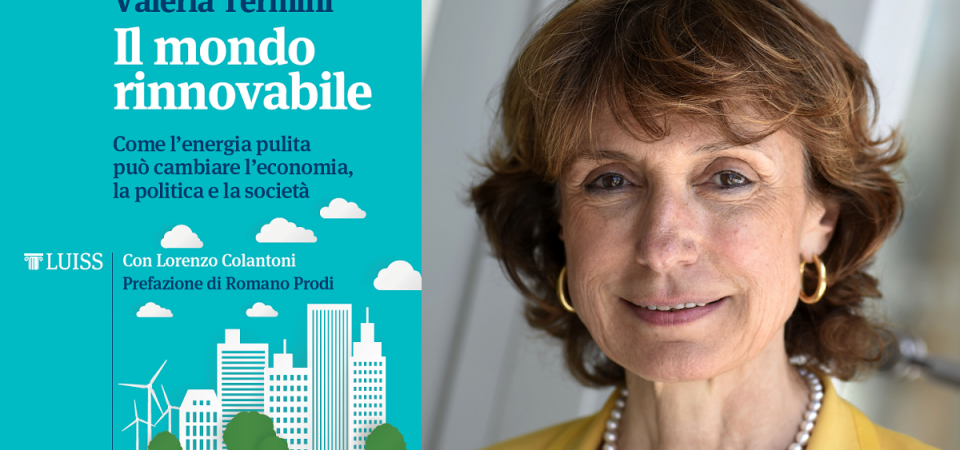"""""""Il mondo rinnovabile"""", il nuovo libro di Valeria Termini"""